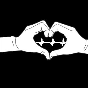 Herzhände_Kardio