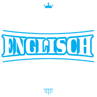 Englisch Shirt-Abschluss