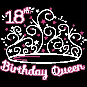 18 Geburtstag / Jahre 18th Birthday Queen Geschenk