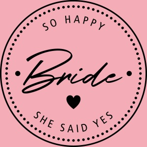 Bride to be - Stempel