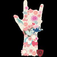 ILY-Sign - Blumen