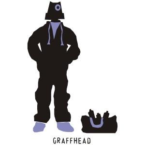 Graffiti Kopf