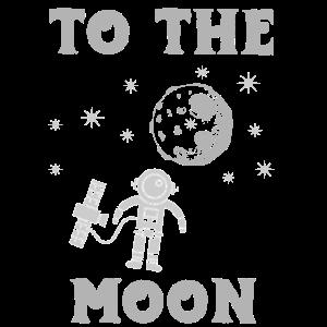 Zum Mond Mondreise Weltraum Rakete Himmel