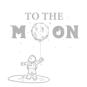 Mondreise Weltraum Zum Mond Rakete Himmel