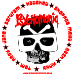 Psychomania skull graphic