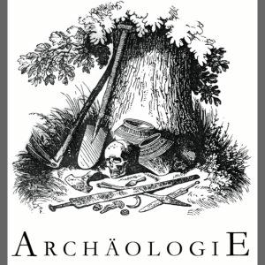 Archäologisches Idyll Tasse