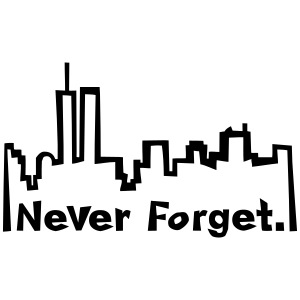 Never forget 9/11.