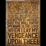 Ezequiel 25:17 (Inglés)