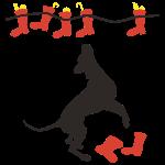 Nikolaus für Doggen