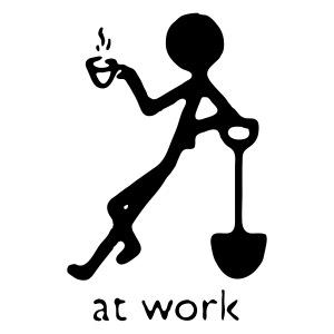 """Bauarbeiter """"At work"""""""