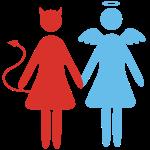 ange demon femmes