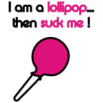 I'm a lollipop