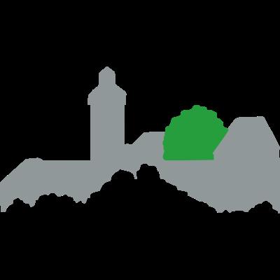 Burg Bayreuth - Ein stilisiertes Logo, das die Burg Bayreuth darstellt. - logo,Burg,Bayreuth