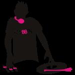 DJ Clubber Deejay musik Elektro