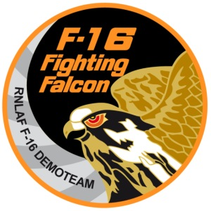 f16 fighting ecusson