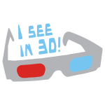 I see in 3D! logo