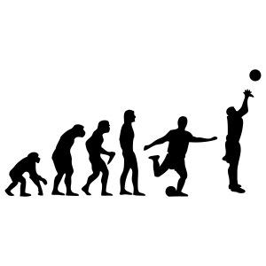 Basketball Evolution Fussball