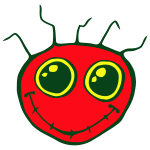 Smiley Face Red