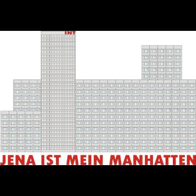 Jena ist mein Manhatten - Wer Jena kennt, wird wissen, was ich meine (^^) - Plattenbau,Manhatten,Jena