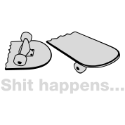 Skate - Skateboarding - Shit happens