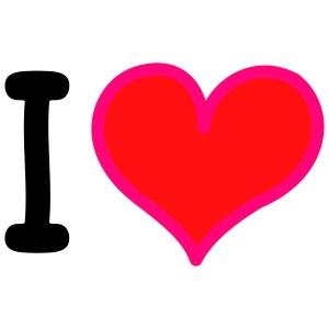 I Heart 3-colors