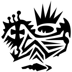 Skull Tribal 4