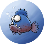 Piranha (Button)