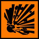 explosions gefahr