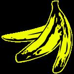 warholish banana peel