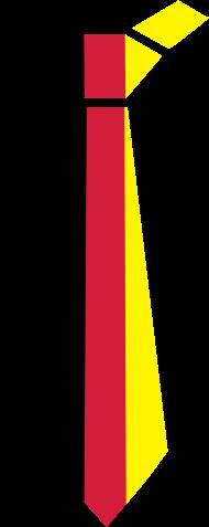 Fan-Shirt: deutschland_krawatte