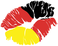 Fan-Shirt: kuss deutschland