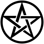 Pentagramm im Ring
