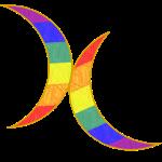 Regenbogen - Venus-Mars-Sicheln