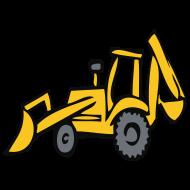 Design ~ Excavator, wheeled loader, crane, building site, Bob, building master, vehicle, truck, truck, dump truck, Gabelstabler, car, construction worker, hammer, compressed air, hydraulics, compressor, outline, pear, outline pear, abort, breakup