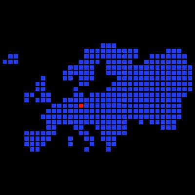 Sachsen - Leipzig - Dresden - Berlin - Brandenburg - Thüringen - Europakarte auf der markiert sind: Thüringen, Sachsen, Anhalt, Brandenburg, Tschechien - Leipzig, Dresden, Berlin, Prag, Erfurt, Halle, Chemnitz, Zwickau, Werdau, Gera, Jena, Weimar, Cottbus, Potsdam, Karlsbad, Plauen, Markkleeberg, Zeitz, Freiberg - deutschland,berlin,Zwickau,Tschechien,Thüringen,Sachsen,Leipzig,Halle,Europa,Erfurt,Dresden,Chemnitz,Brandenburg,Anhalt