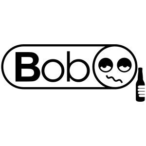 bob logo vector courbe grand