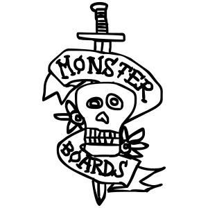 monsterboards skull and dagger