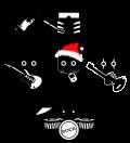 Motif Rock de Noël