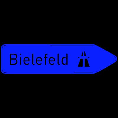 Wegweiser Bielefeld - Hier geht's lang nach Bielefeld! - Nordrhein-Westfalen,Bielefeld
