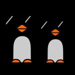 funky pinguine