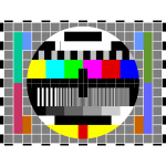 Television test picture