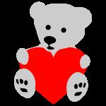 Herz Bärchen