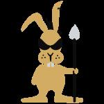 Bunny punk 'n lance (3c)