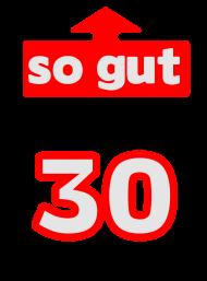 Neue Motive und Topseller: So gut mit 30