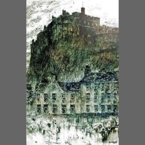 Edinburgh Castle s Grassmarket