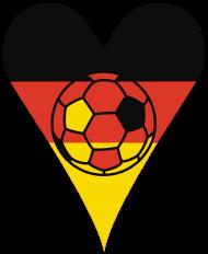 Fan-Shirt: Das Herz eines Fußballers