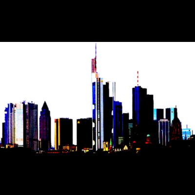 Frankfurt - Frankfurt am Main - Frankfurt am Main Skyline