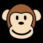 Happy Monkey Glücklicher Affe