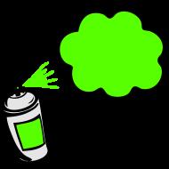Design ~ sprayblase3farben