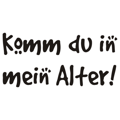 ComedyJays Alter - Wenn die Oma mal wieder schreit Komm du in mein Alter. DER Klassiker bei den Auftritten der ComedyJays • www.comedyjays.de - oma hilde,hilde,dj nik,comedyjays,TekknoKid,Köln,Koblenz